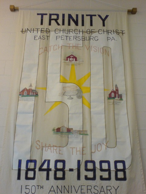 150th Anniversary Banner From 1998